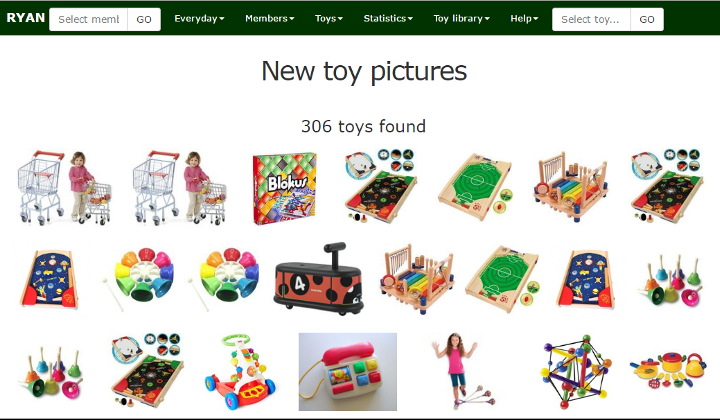 Toy picture index